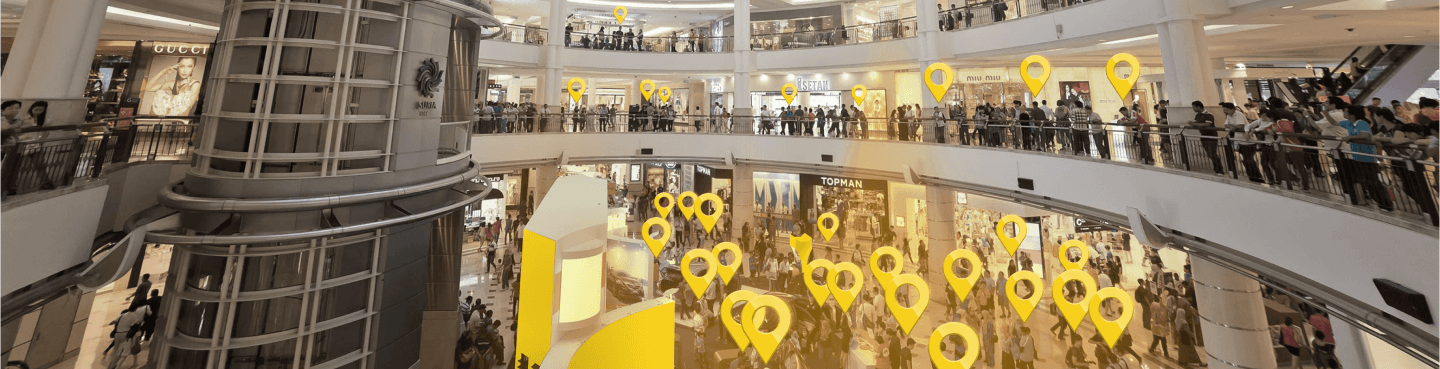 hero background - crowdstorm at a mall